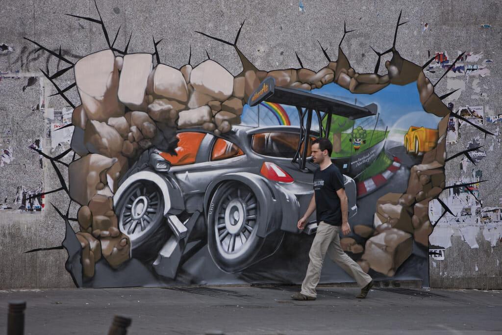 (Street art Madryd)