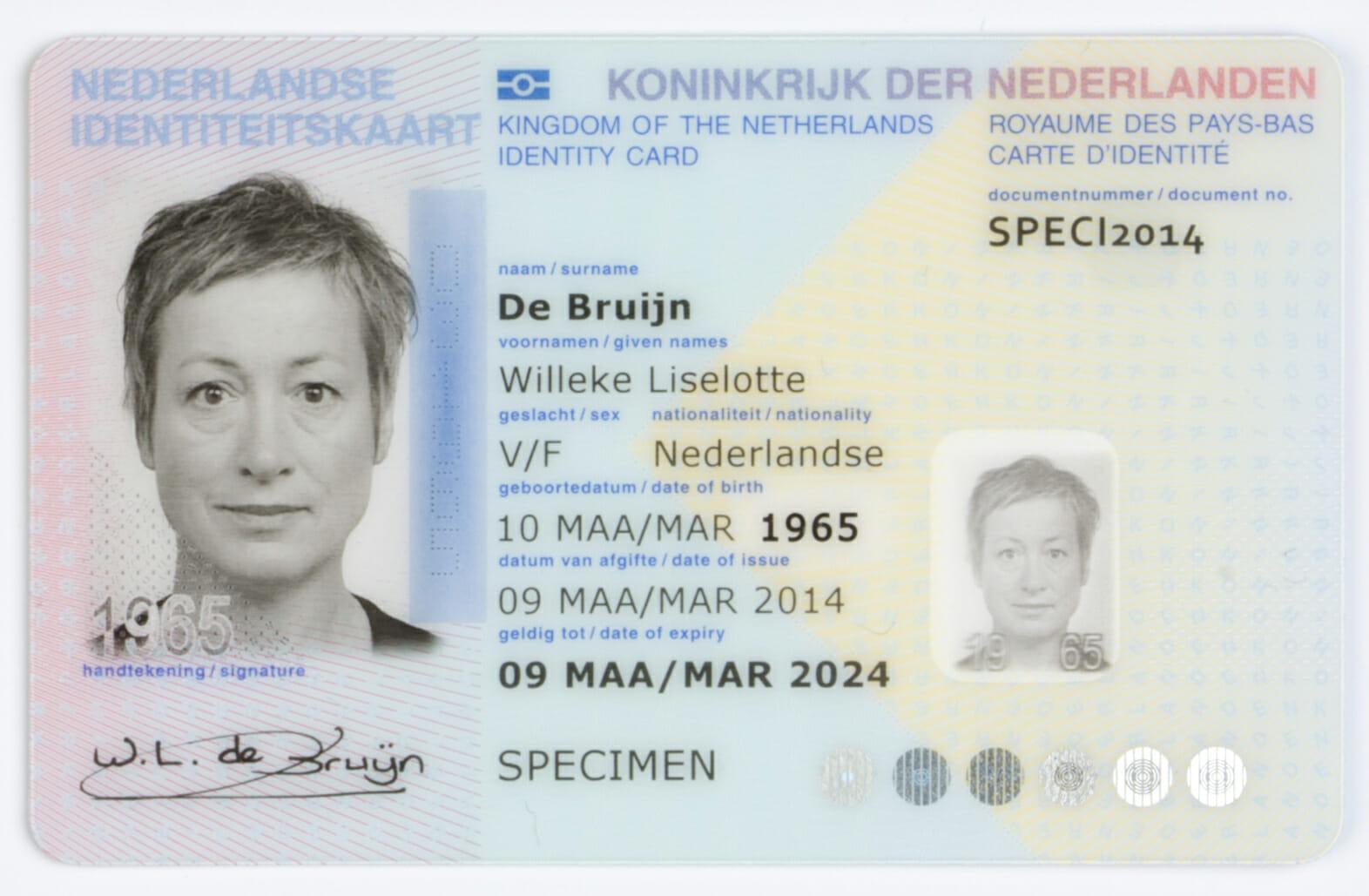 geldig legitimatiebewijs