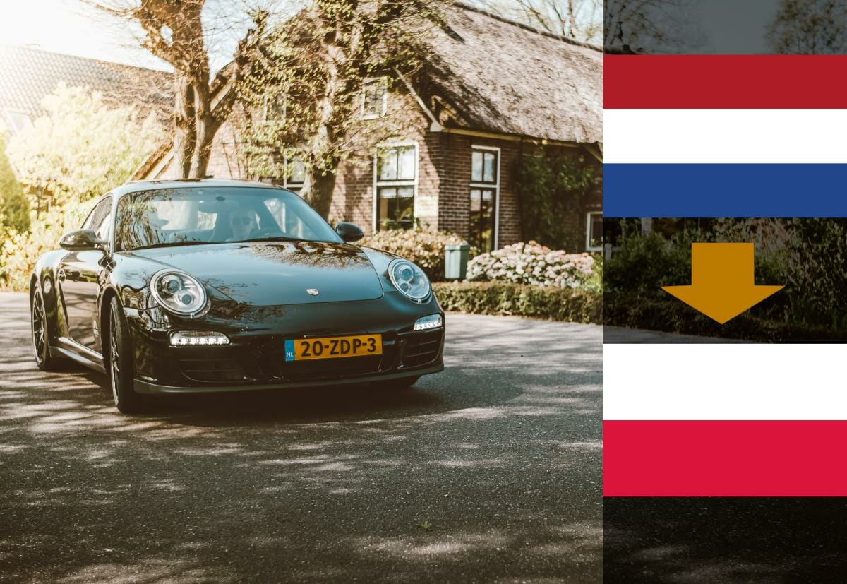 Samochód z Holandii do Polski